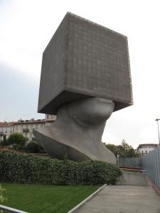 l'opera di uno scultore timoroso
